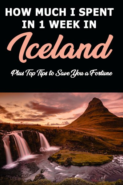 My Iceland Budget - how to save money in Iceland. Iceland money saving tips and tips for how to tarvel Iceland on a budget. From budget flights to budget iceland accommodation, this iceland budget guide has you covered! #icelandbudget #budgeticeland #1weekicelandbudget #icelandcosts #icelandmoney #savingmoneyiniceland