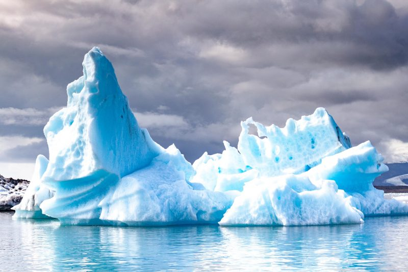 Jokulsarlon in summer in iceland