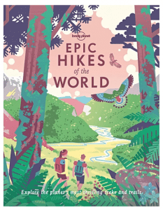 travel gifts for her best hikes book