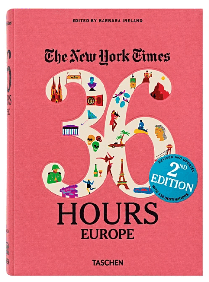 travel gifts for her - europe book