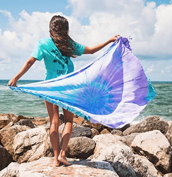 travel gifts for her - sand free towels