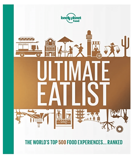 travel gifts for her - ultimate eat list