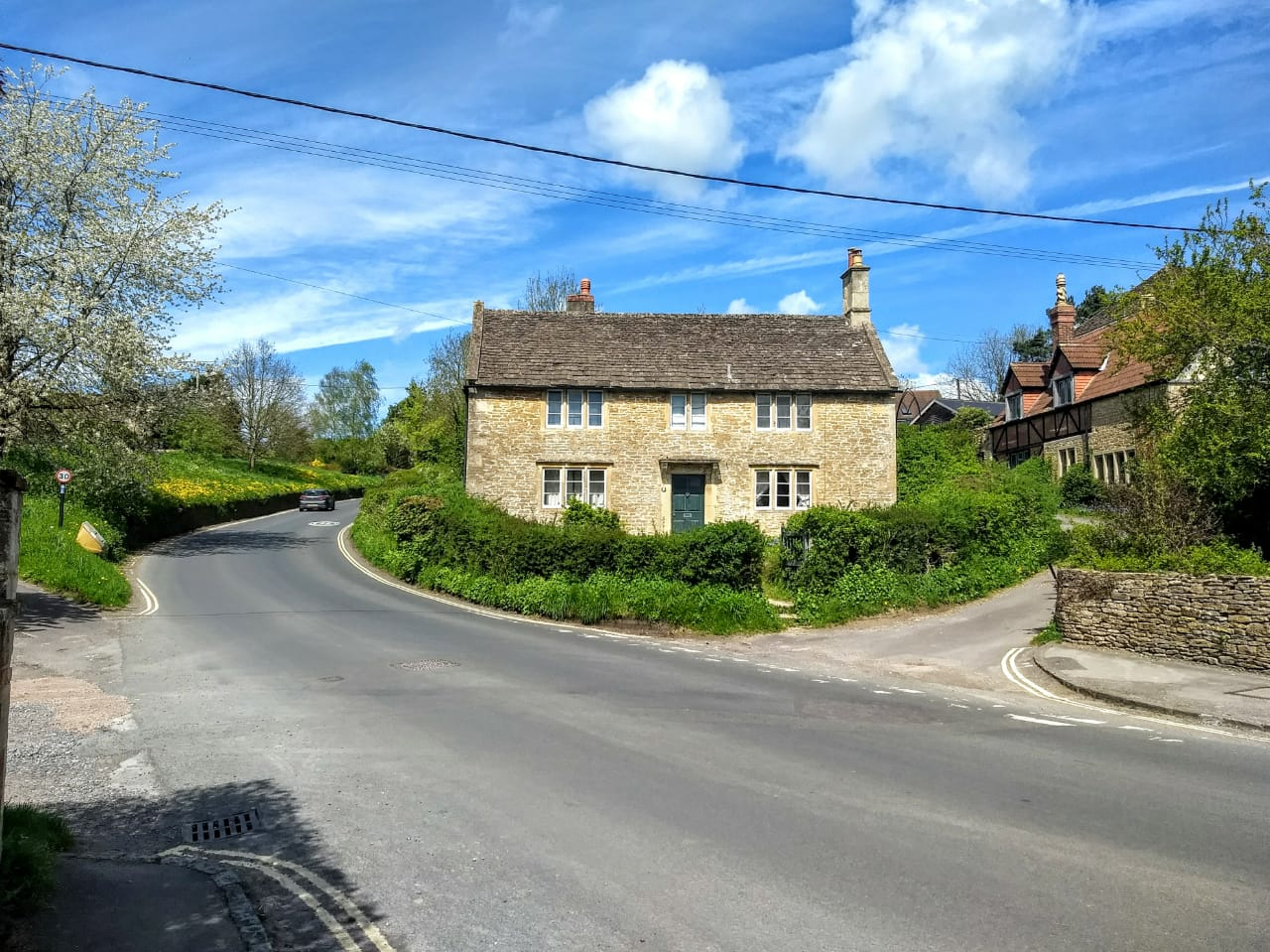 The village of Lacock wiltshire - english countryside getaway