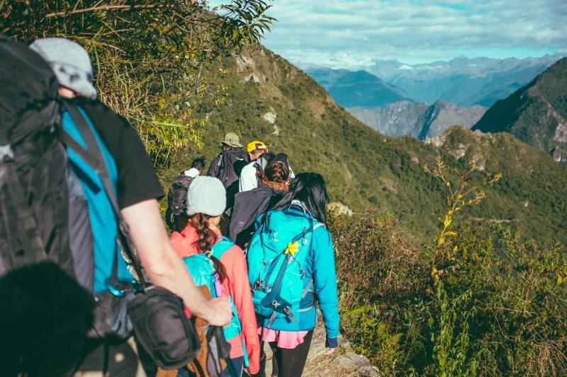 black friday deals on adventure tours - people trekking