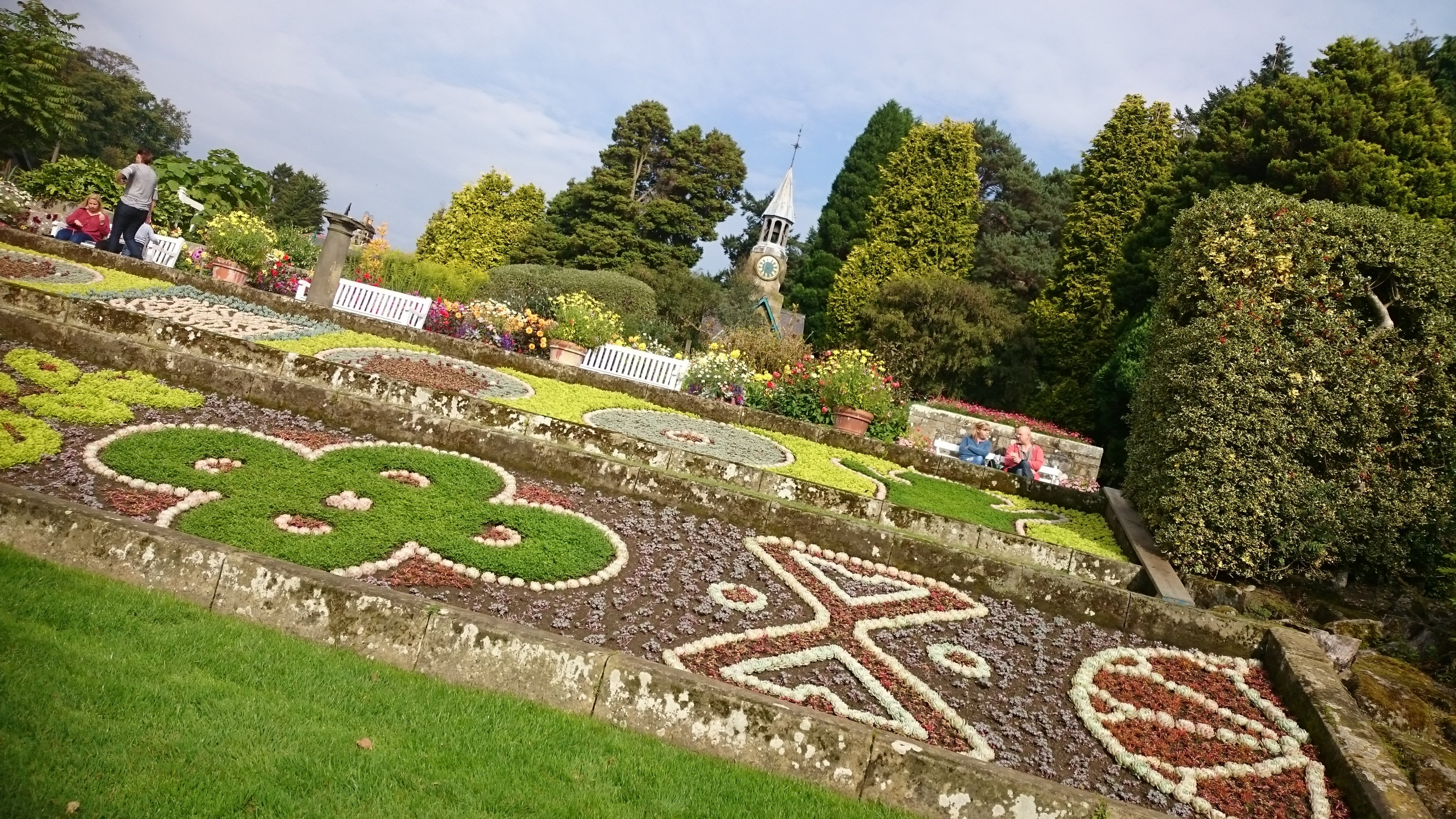 cragside estate gardens northumberland - a great place to visit on an english countryside getaway