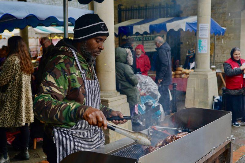 stroud food stall market