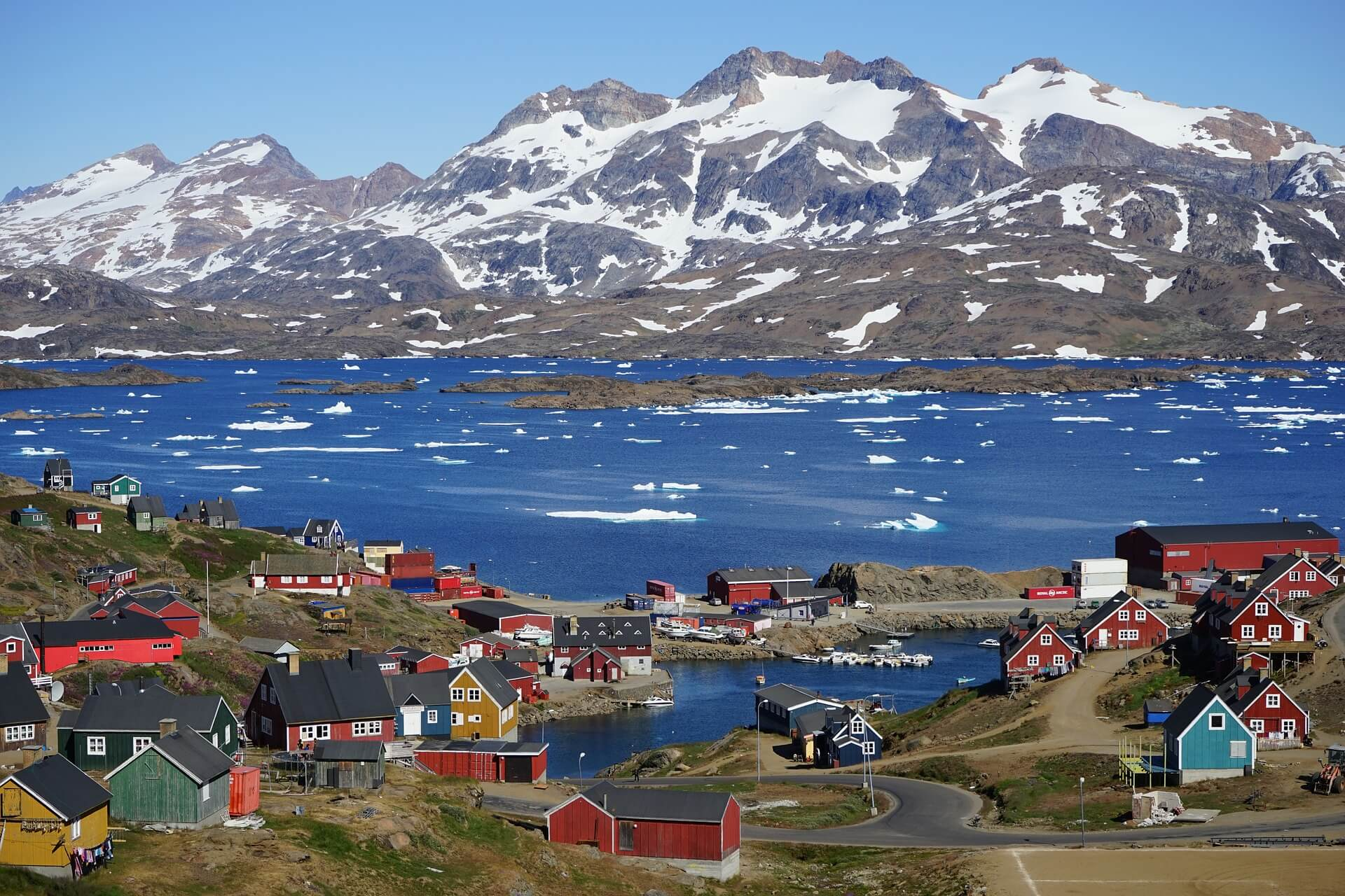 Tiny colourful villages in greenland - a bucket list experience