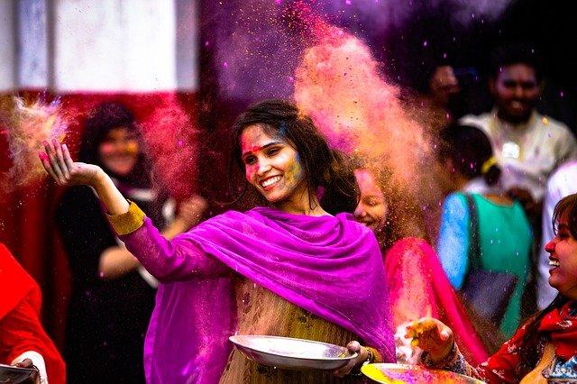 Holi festival india - a bucket list festival