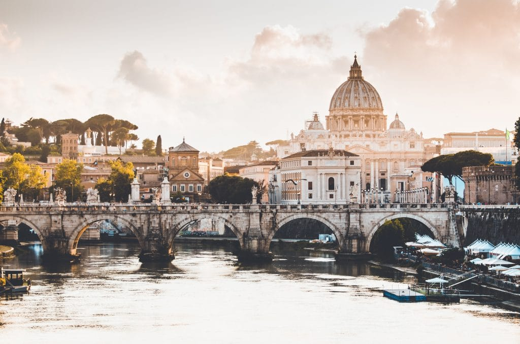 best cities for couples - rome in italy