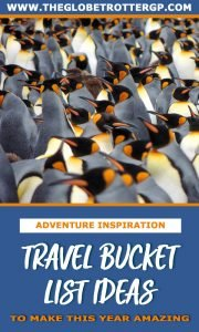 bucket list experiences for your worldwide travel bucket list! Use this as your travel inspiration! #travelinspiration #travel2019 #travelbucketlist #bucketlist