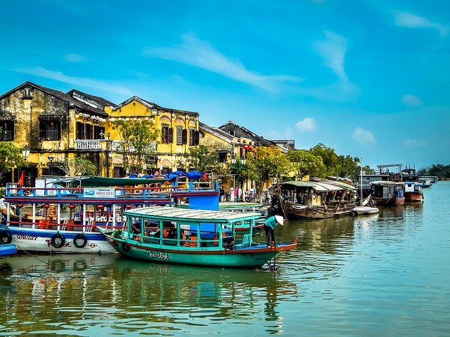 hoi an in vietnam on a cambodia and vietnam tour