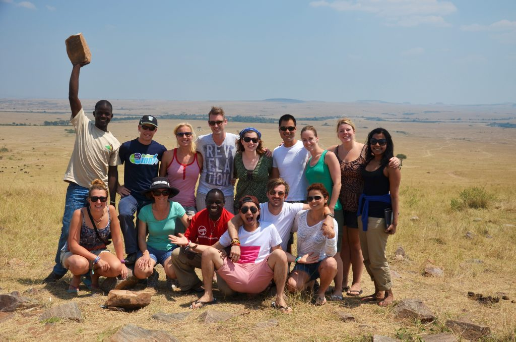 group travel for singles in africa on overlanding trip