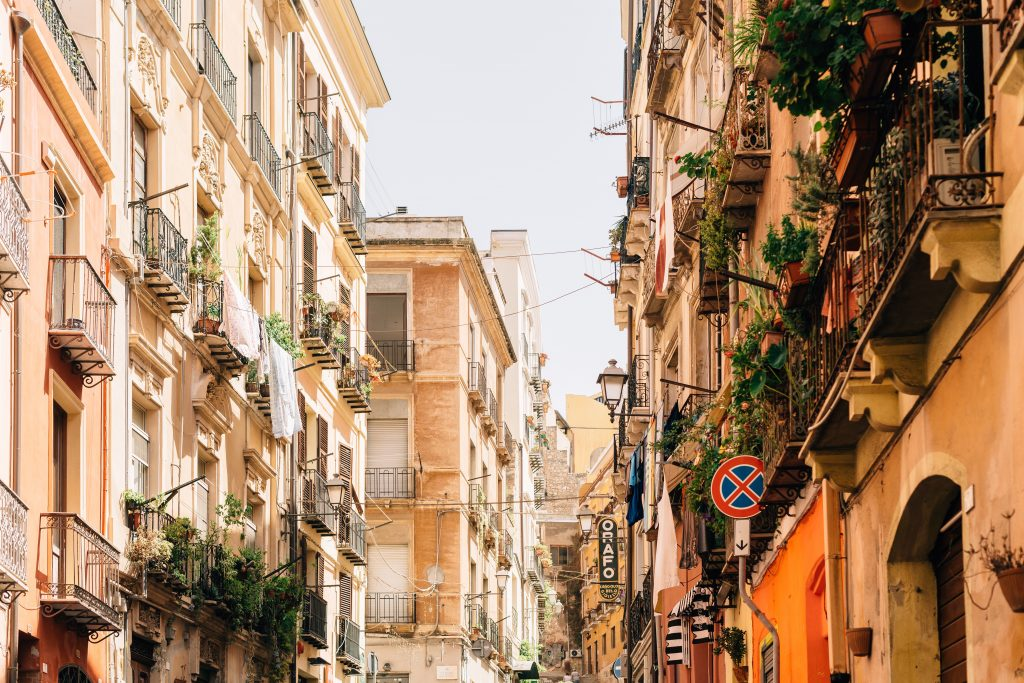 europe raod trips sardinia town