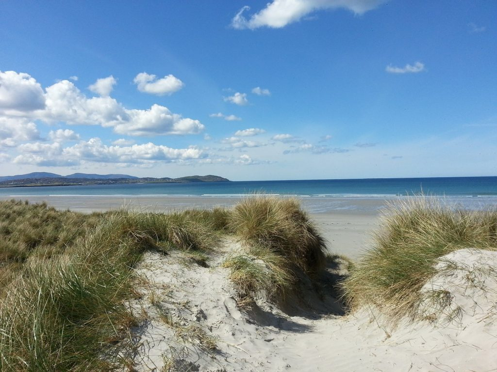 europe road trip donegal beach ireland