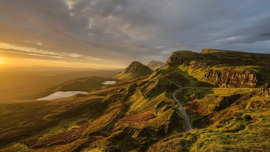 europe road trip scotland highlands scenery