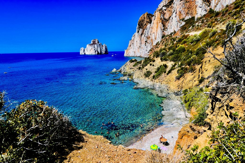 road trips in europe sardinia beach