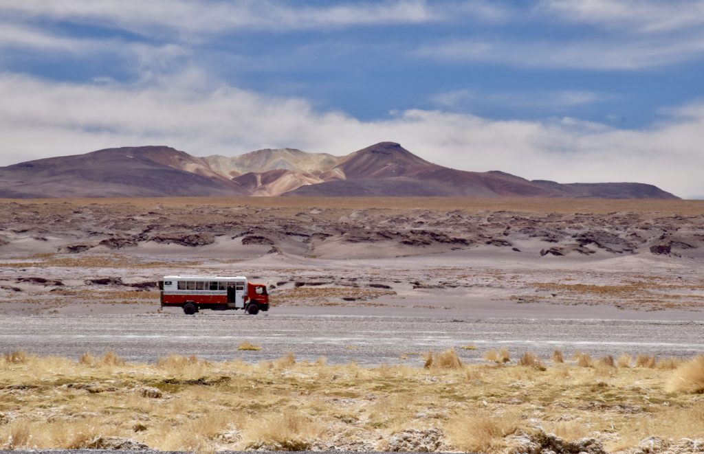 overlanding in bolivia altiplano