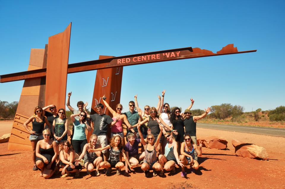 group travel for singles at the red centre uluru