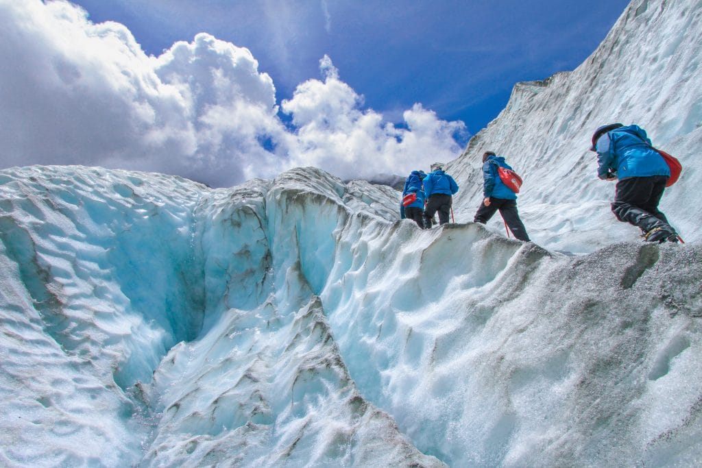 new zealand bucket list franz josef trekking