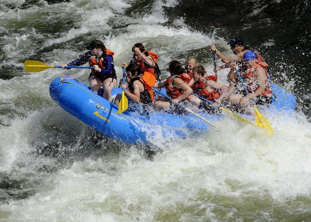 new zealand bucket list white water rafting