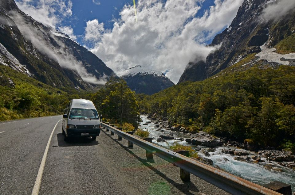 new zealand by camper van