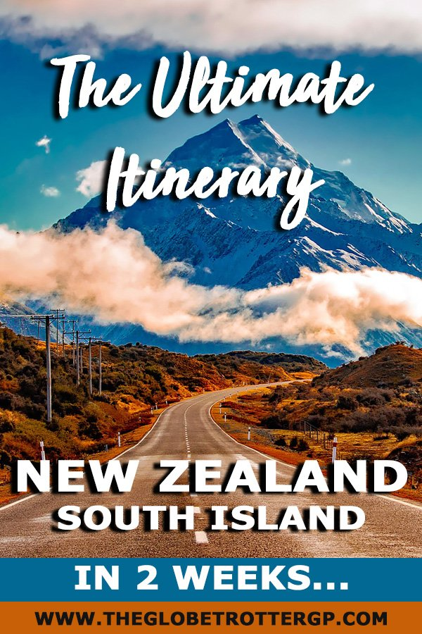 A 2 week new zealand south island itinerary. Take this 2 week new zealand road trip and visit the South Island's highlights. This New Zealand itinerary is perfect for self drive trips but also group tours. Find out the best places to see in new zealand on the south island and the best things to do on the south island #newzealand #nz #newzealanditinerary #newzealandsouthislanditinerary
