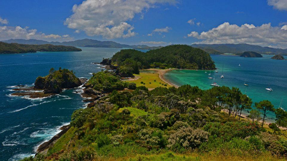 new zealand north island bay of islands