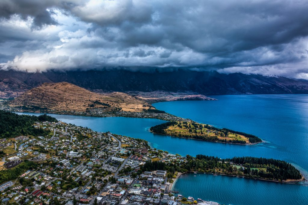 new zealand queenstown view
