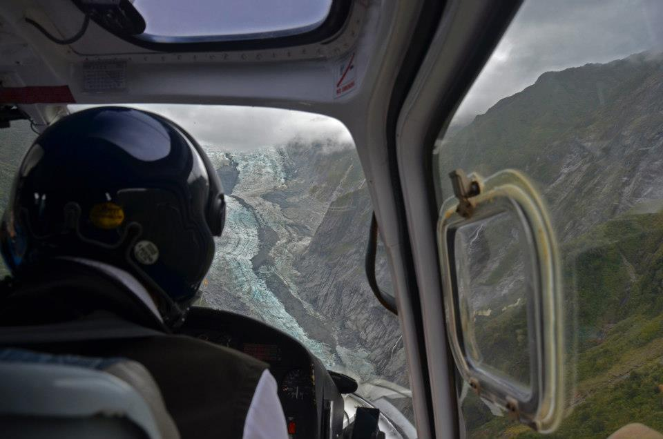 new zealand south island itinerary hellicopter franz josef