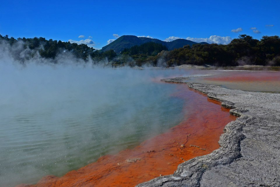 new zealand north island wa-o-tapu geothermal park