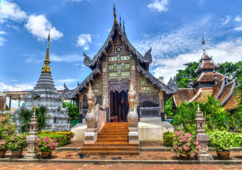 Chiang Mai temple - a popular stop on any northern thailand itinerary