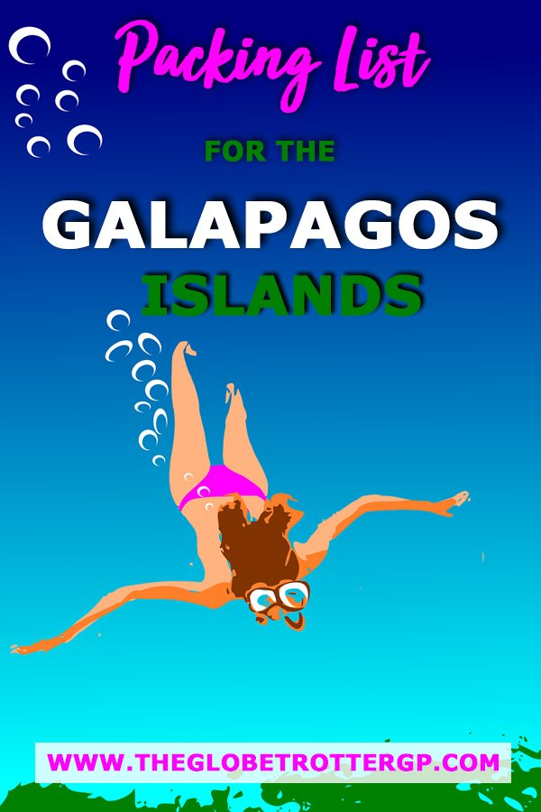 A complete Galapagos packing list for all seasons. Everything you need to know about what to wear in the galapagos and essential snorkelling and photography equipment you will need to pack for the Galapagos islands, south america. A packing list for girls in the galpagagos.