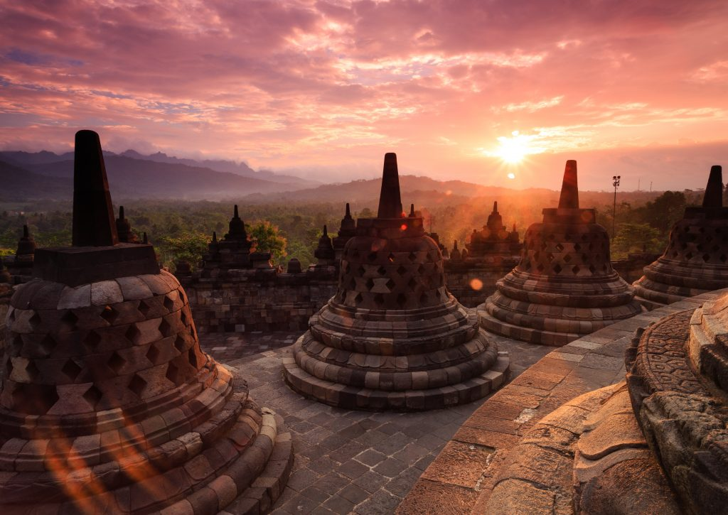 borobudur sunrise a highlight on this 2 week indonesia itinerary