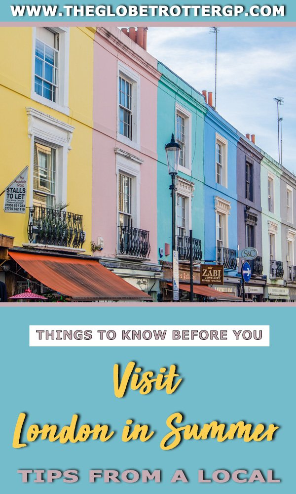 Are you visiting London in summer? This London city guide tells you everything you need to know with some brilliant tips from a local! From the nicest parks for a picnic to the best festivals in London or the best things to do in London city for a perfect british cit break! #london #citybreaks #europecitybreaks #londontravel