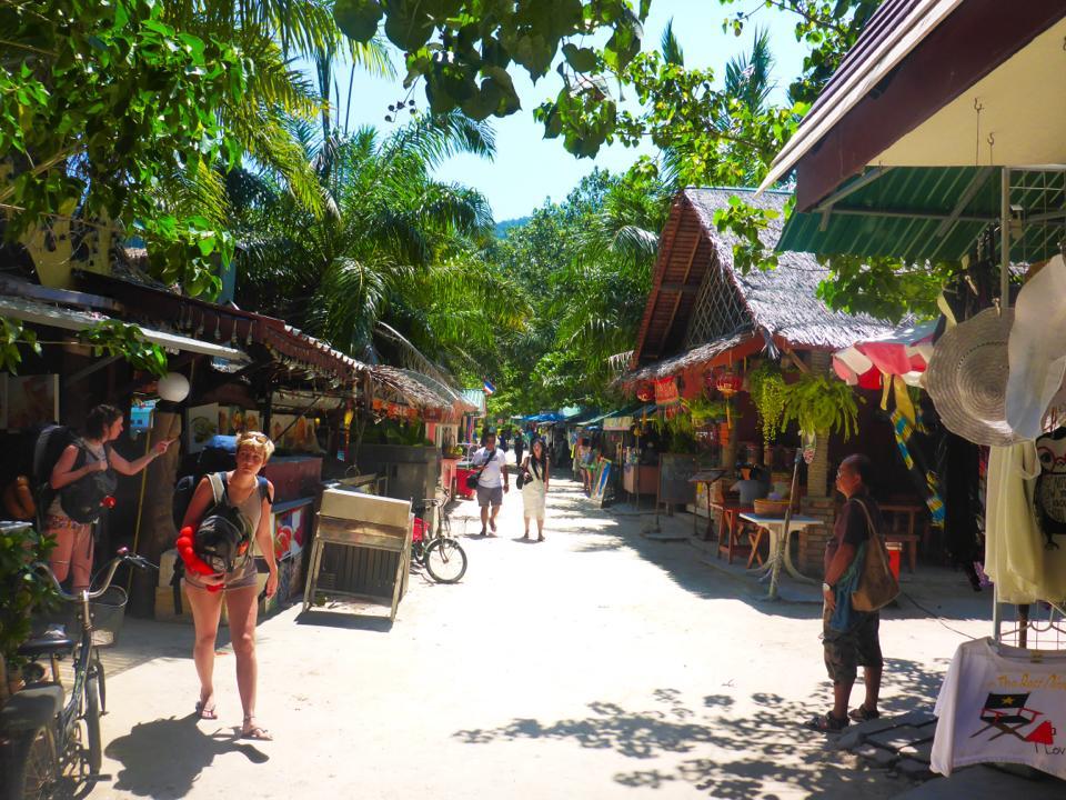 thailand koh phi phi town
