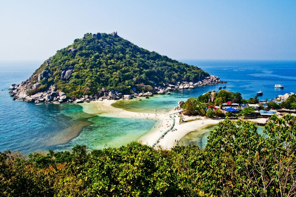 view of koh tao - an island you may want to visit on your 10 day thailand itinerary
