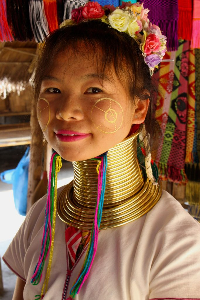 thailand long necked karen tribe