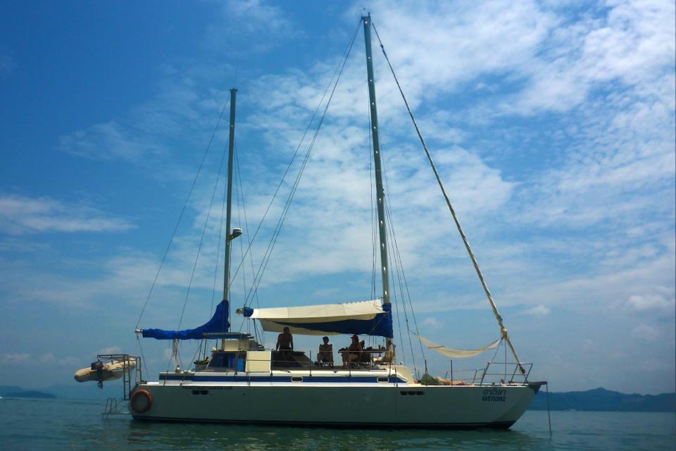 thailand sailing boat