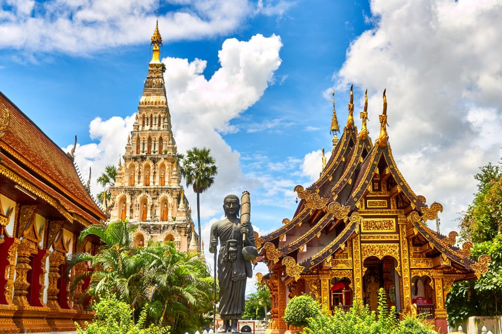 Visiting temples in Thailand is a must on any itinerary