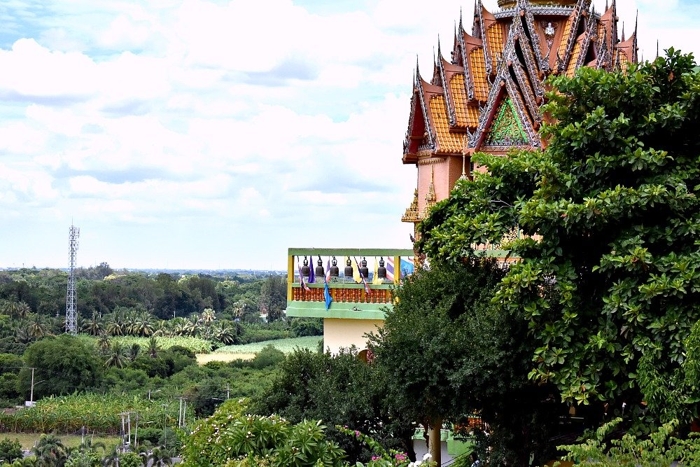 Wat Tham Sua temple, Thailand