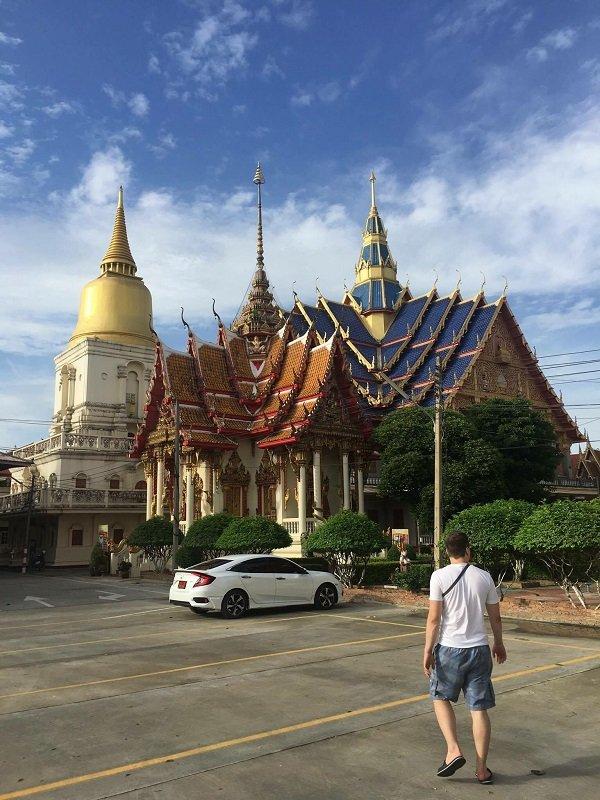 Wat Bang Phra thailand temples