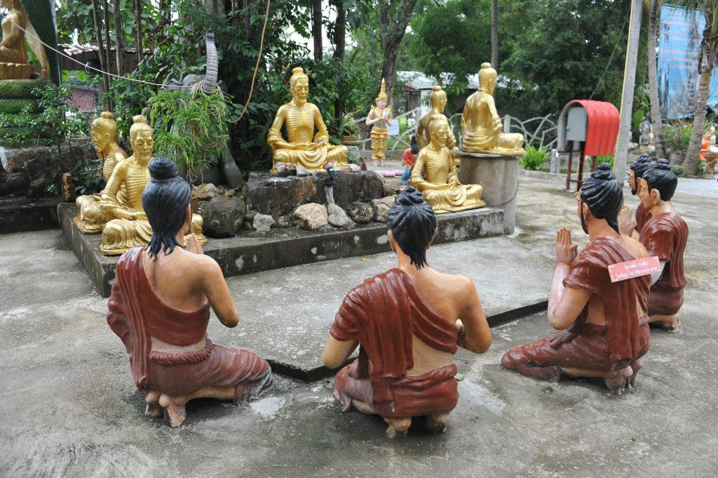 Wat Mae Kaet Noi temple in thailand