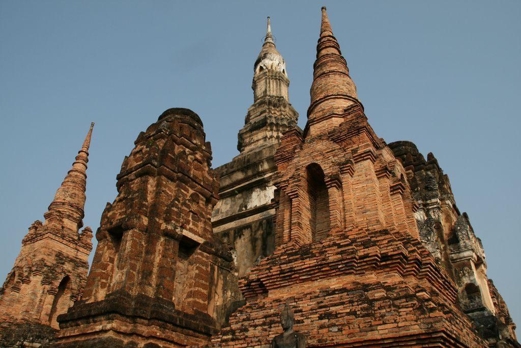 Wat Mahathat Sukothai Temple
