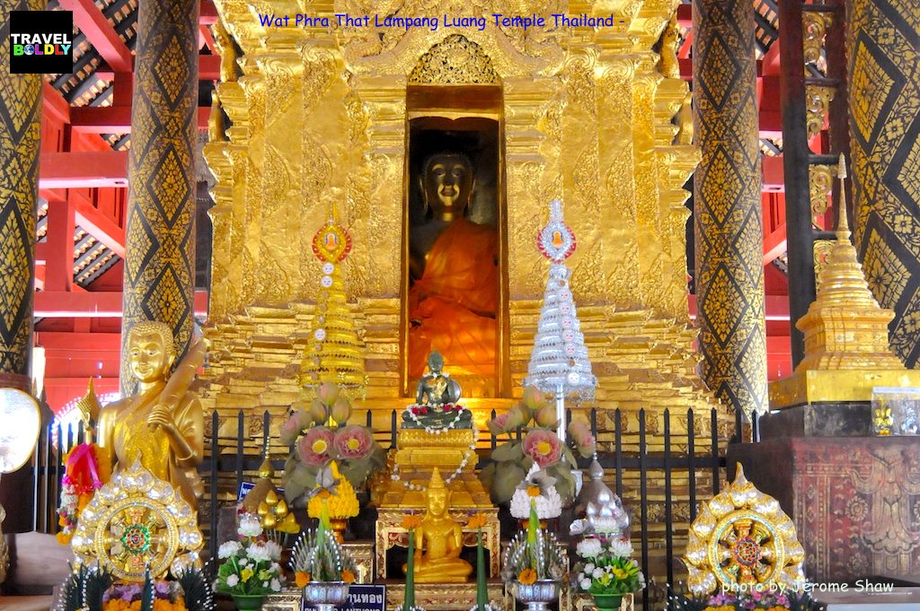 wat phra that lampang luang temple in thailand