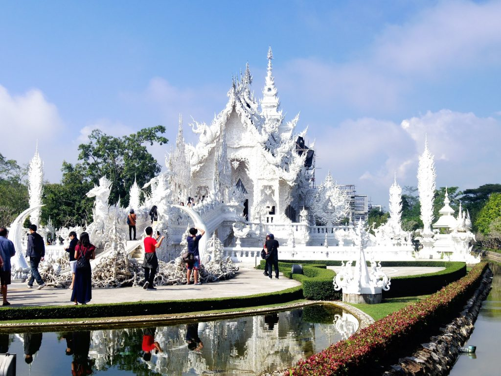 Wat Rong Khun by Kelly Edgar the white temple chiang mai