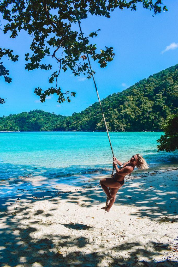 Surin Island in Thailand best beach for relaxation