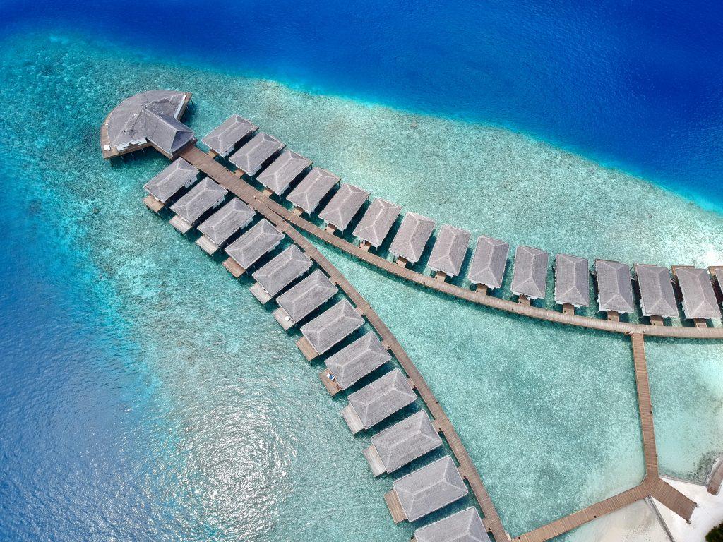maldives resort overwater bungalows