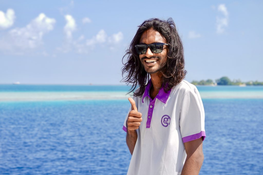 our g adventures Maldives CEO guide Zaff