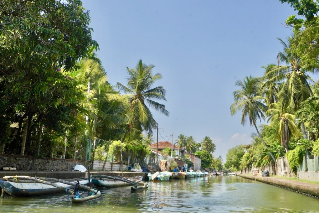 negombo canals the first stop on sri lanka group tour