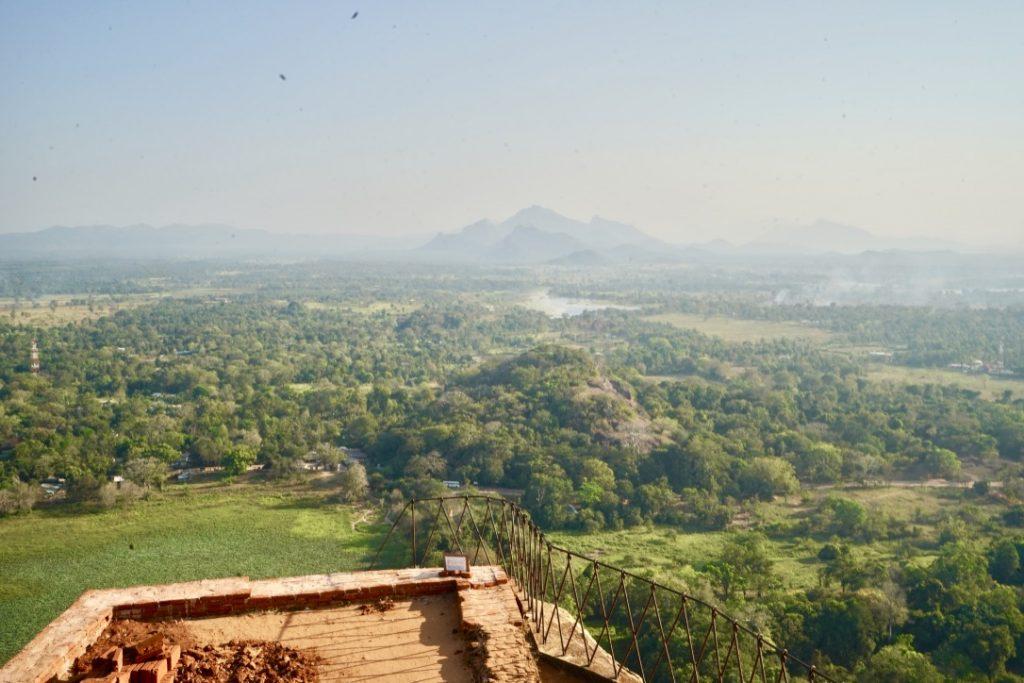 scenery from sigiriya rock